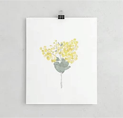 Wattle Print