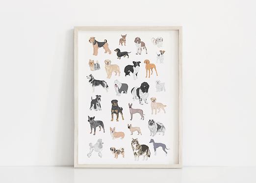 Doggo Print
