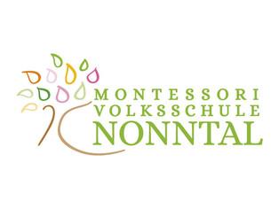 Logo-Design Montessori Volksschule Nonntal