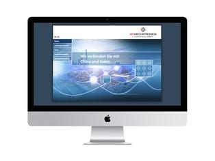 ATMechatronics Internetauftritt