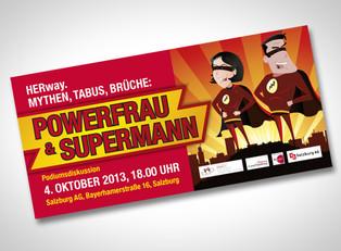 Powerfrau & Supermann
