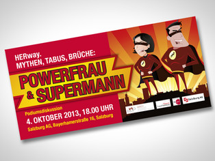 Powerfrau & Supermann