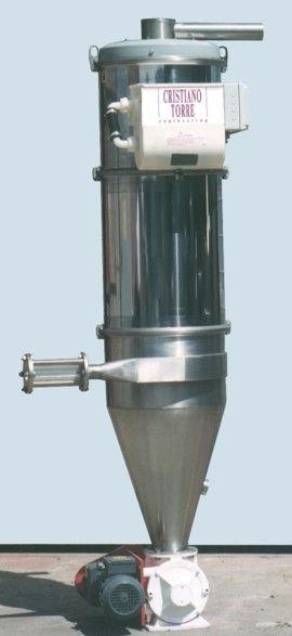 Ciclofiltri per trasporto pneumatico