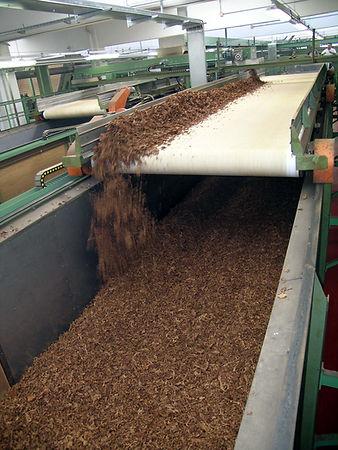 nastro per stoccaggio dinamico di tabacco trinciato