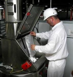 Nanodosaggio di ingredienti da imballagi specifici
