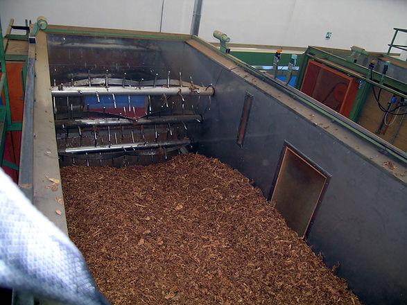 stoccaggio dinamico trascinamento per tabacco trinciato