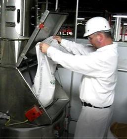 Microdosaggio di ingredienti da sacchi