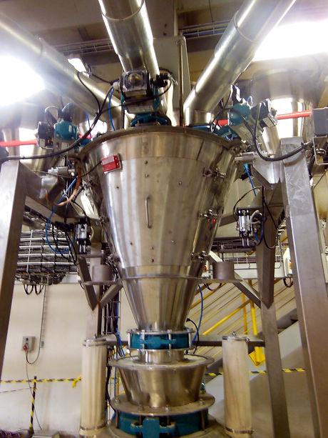 Impianto di pesatura ingredienti