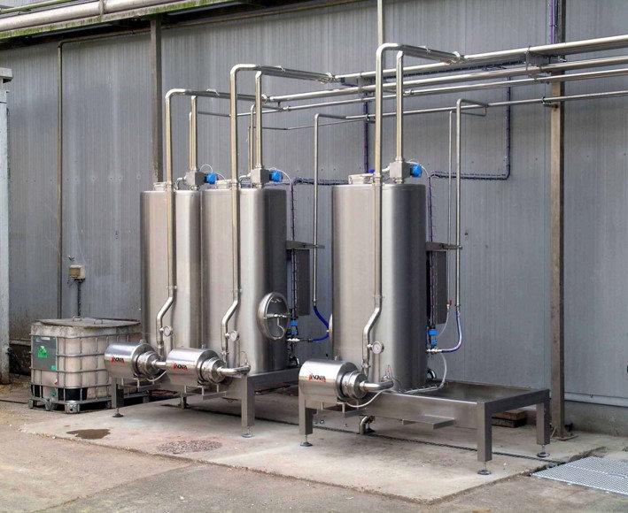 Impianti di aspirazione vapore per il recupero dell'energia