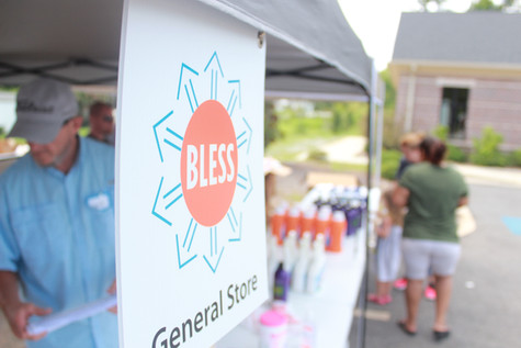 Our BLESS General Store provides personal hygiene products and home cleaning supplies to families and children in poverty.