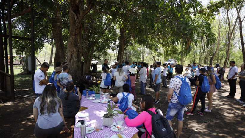 Experiência única - Lançamento do evento no Parque Sesc Serra Azul