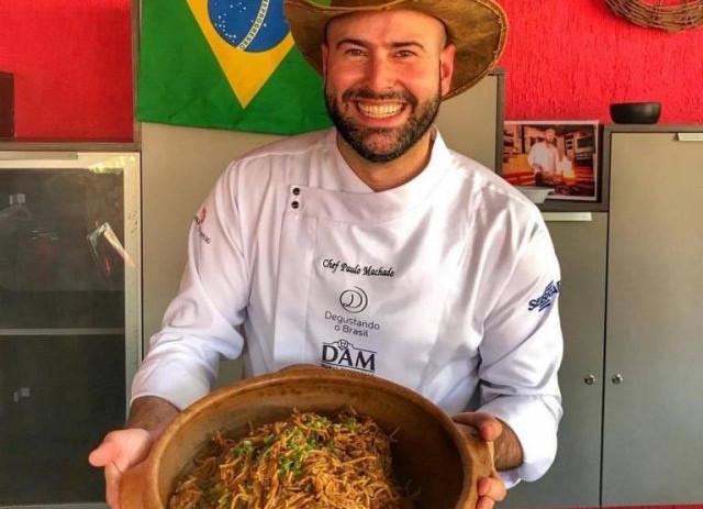 Destaque na mídia: 'Pantanal Cozinha Brasil' em Mato Grosso terá participação do chef sul-ma