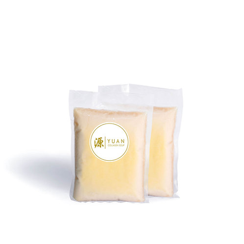 Premium Chicken Collagen Broth (Twin Pack 1kg x 2) Frozen Pack