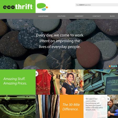Ecothrift Website Design
