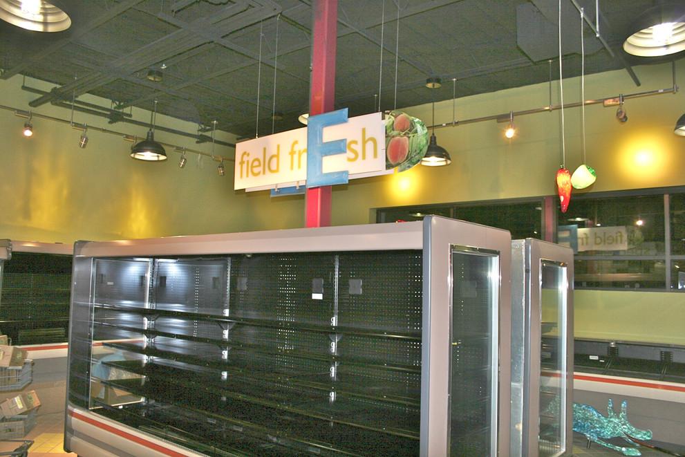 Main Market Interior Store Signage