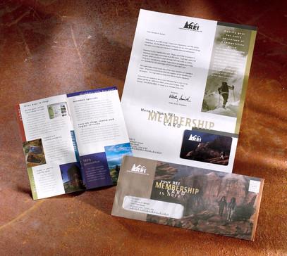 REI Membership Direct Mail packet