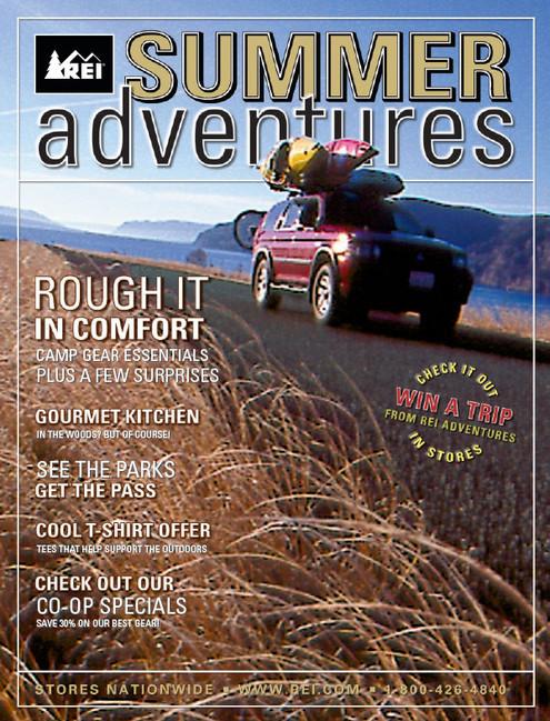 REI Retail Catalog Cover