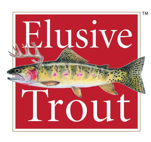 Elusive Trout Logo Design