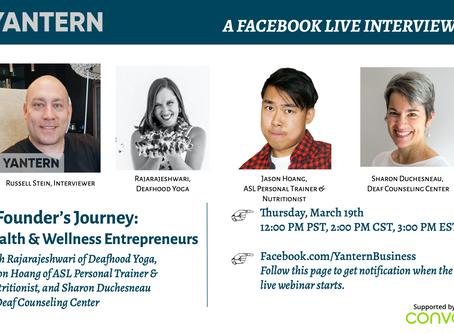 A Founder's Journey: Health & Wellness Entrepreneurs