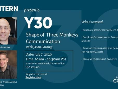 Shape of Three Monkeys Communication