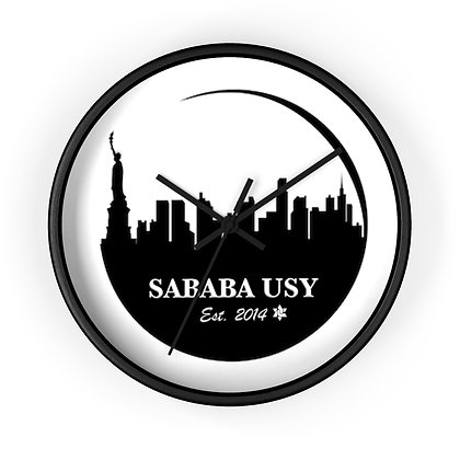 Sababa Wall clock