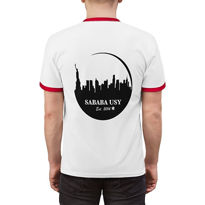 Sababa circle logo tee