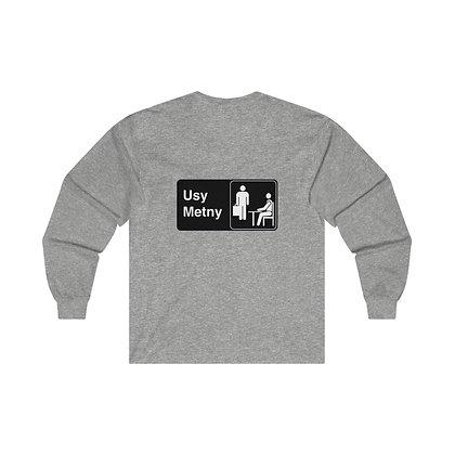 METNY Office Logo Long Sleeve Shirt