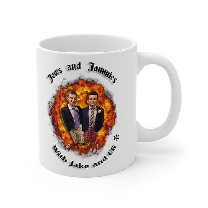 Jews and Jammies Mug 11oz