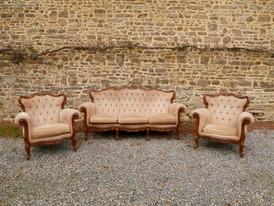 2 fauteuils 1 places