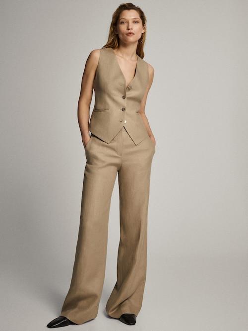 Buttons suit waistcoat
