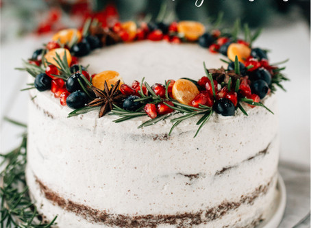 Merry Christmas Torte