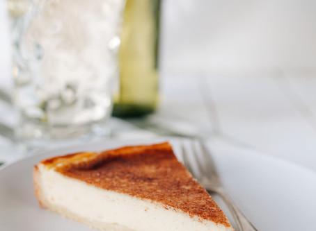 Pfälzer Rahmkuchen                               mit einer Zucker und Zimt Kruste