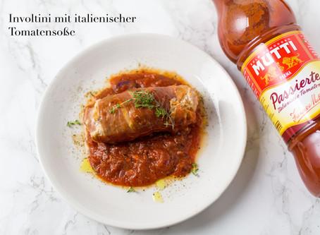 Involtini mit italienischer Tomatensoße