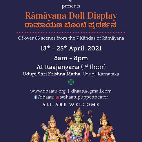 Ramayana Doll Display