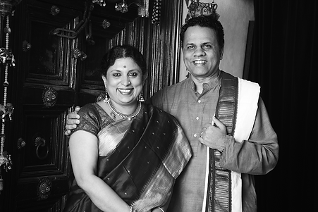 Founders - Anupama and Vidyashankar Hosk