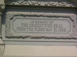 Grandview Cemetery - Flood Memorial