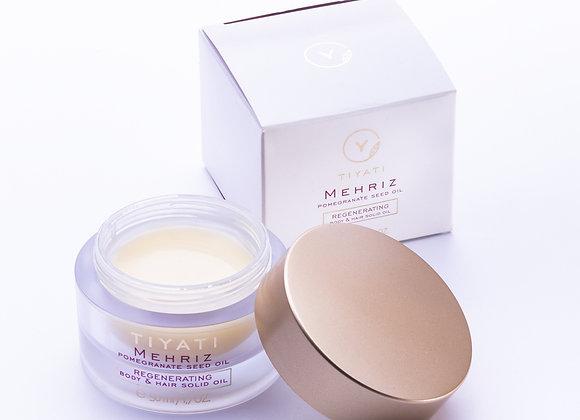 Mehriz Regenerating Hair & Body Solid Oil 50ml