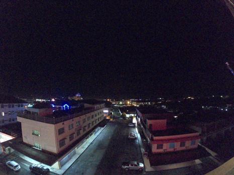 Rooftop Garden Night View