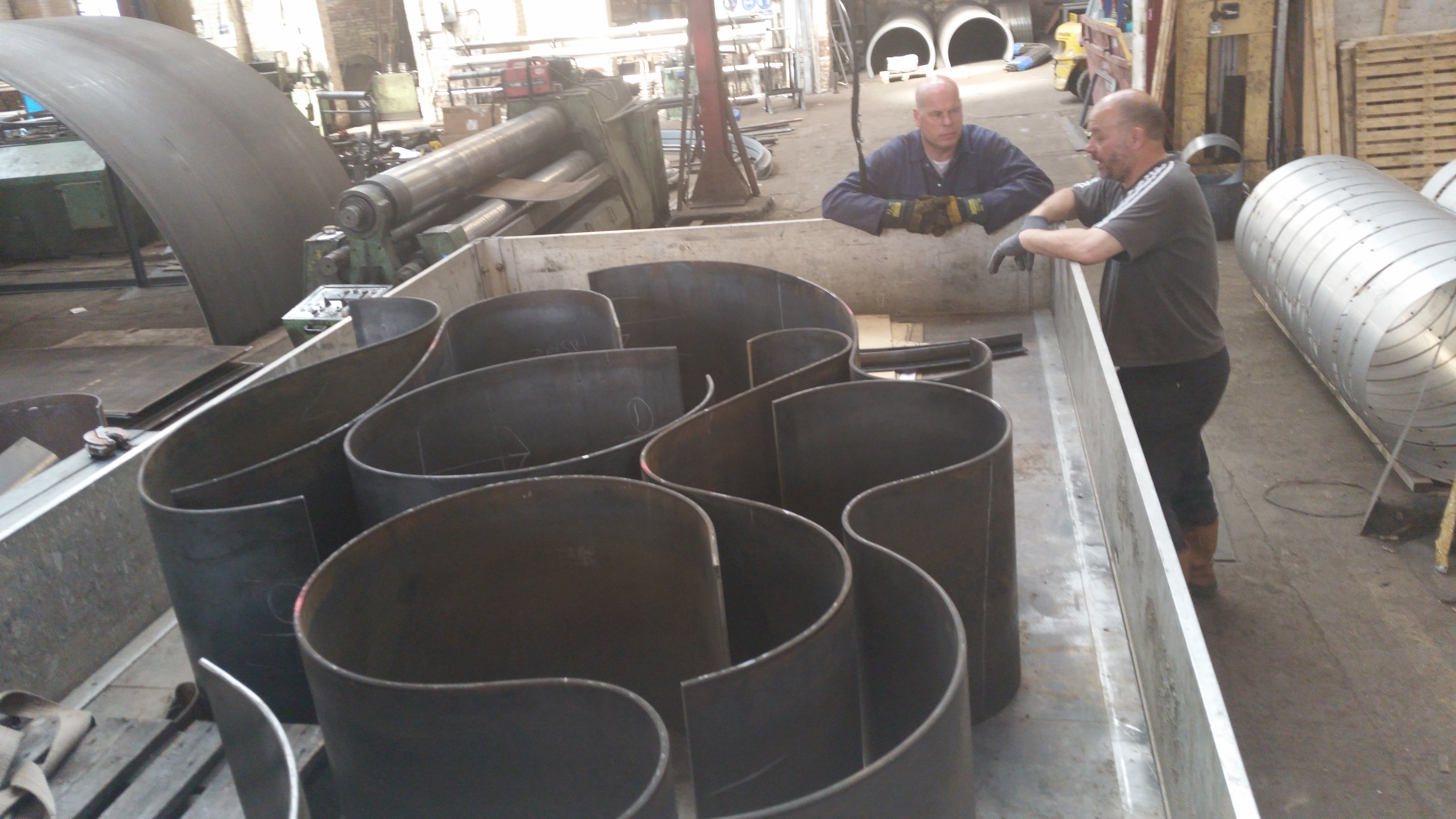 The rolled steel sections