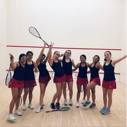 GHS Girls Squash A team at the US Squash