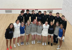 Darien Varsity Boys and Girls at US Squash Nationals 2020