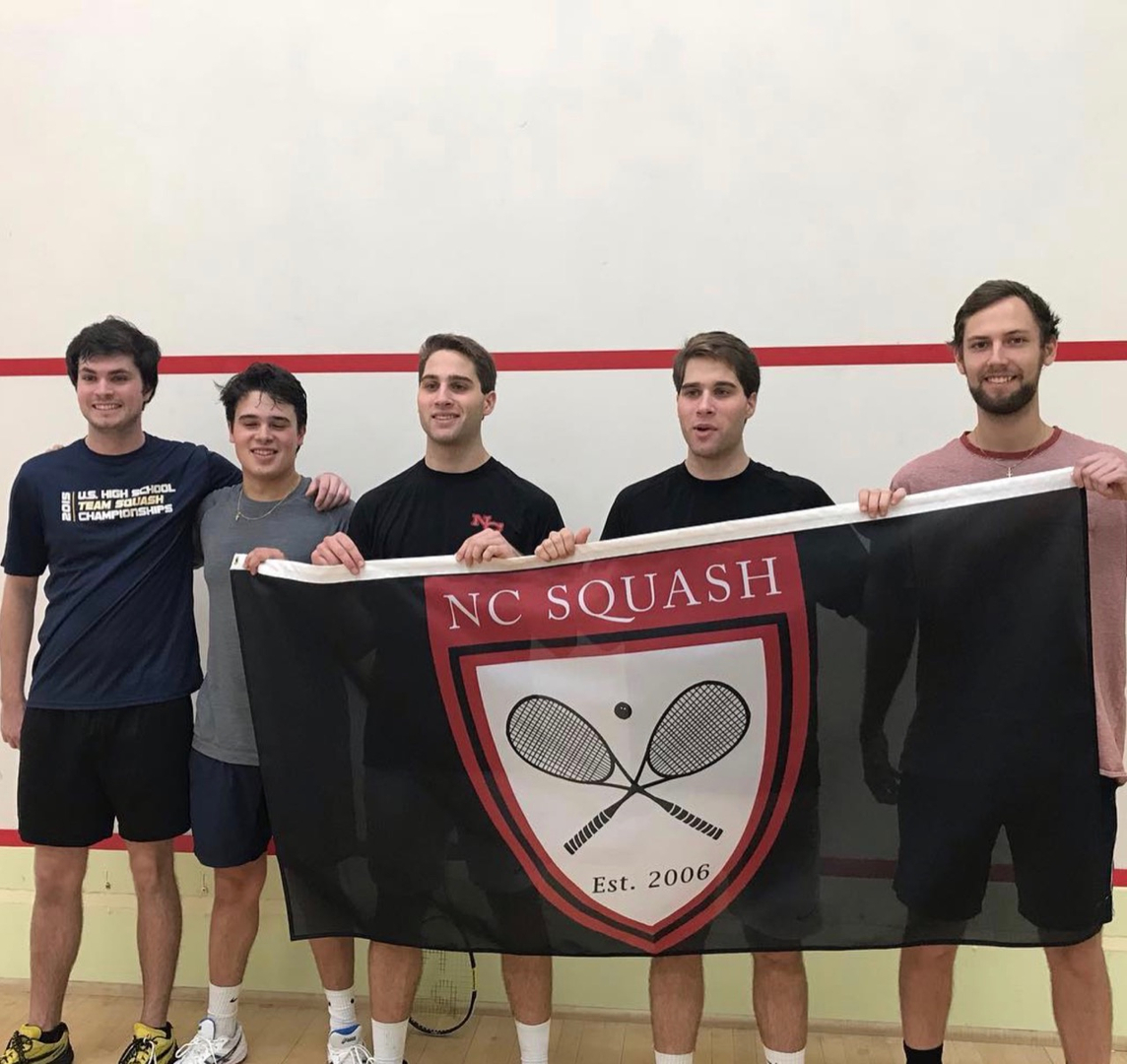 New Cannan alumni  L to R - Kyle Finnican, Christian Megherby, Grayson Bubrosky, Killian Bubrosky, A