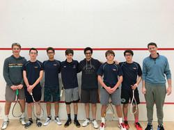 Briarcliff Boys Varsity squash team 2019/2020 season.