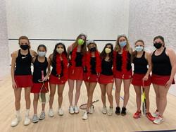 Greenwich Girls Squash team 2020/2021