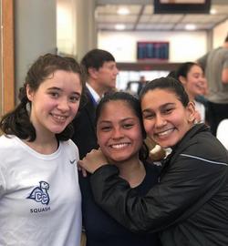 Denise Bonilla & Johanile Hurtado (Connecticut College) and Pratisha Missha (Franklin & Marshall Col