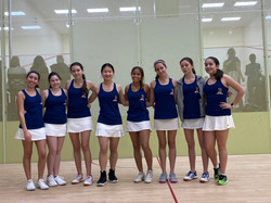 Briarcliff Girls Varsity squash team 201