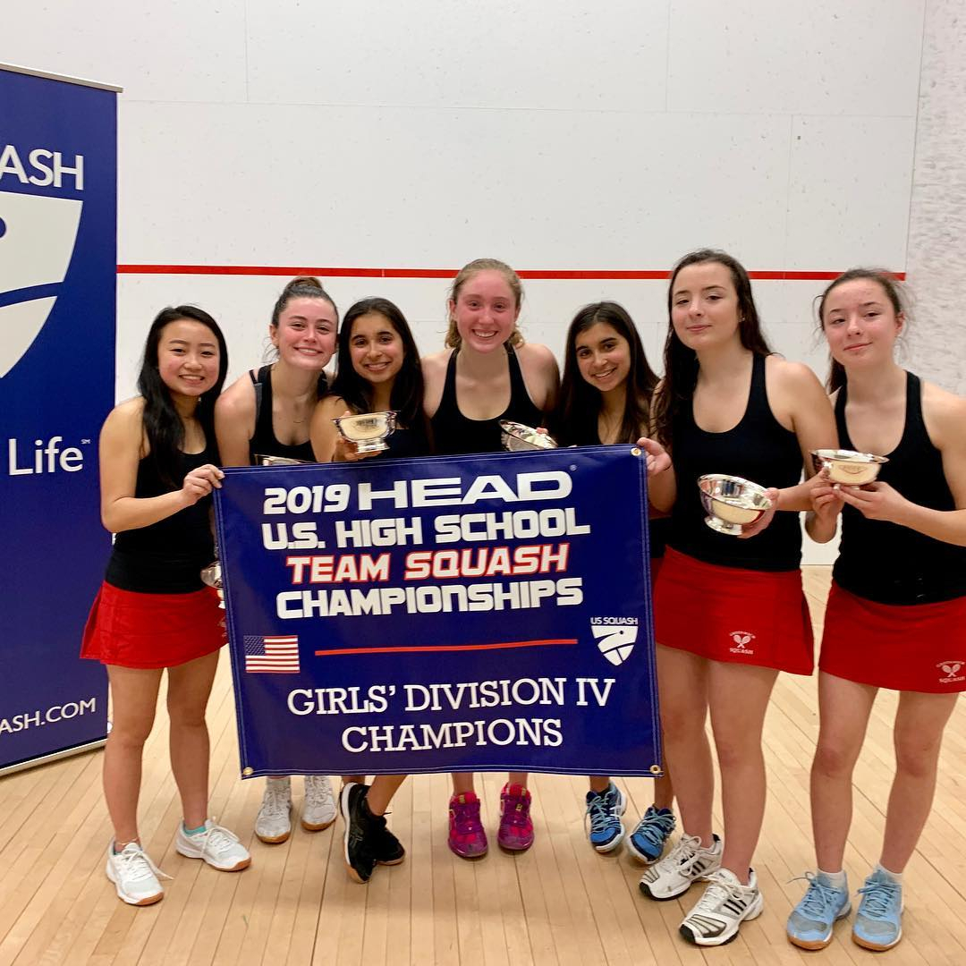 Greenwich High School Girls winner of Division IV at US High School Nationals 2019
