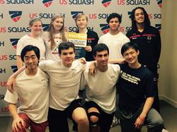 Greenwich Squash 2015 Nationals Team