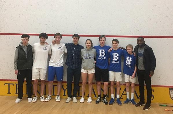 Bronxville High School Boys Varsity squa