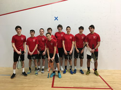 GHS Boys B squash team 2018/2019